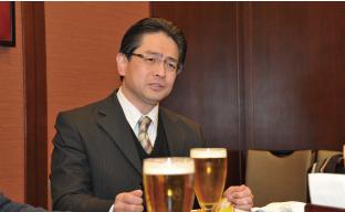 福山三菱自動車販売株式会社 総務部長 兼 企画部長 秋山 尚輝さん